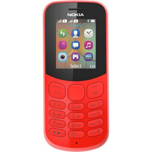 nokia 130 red front