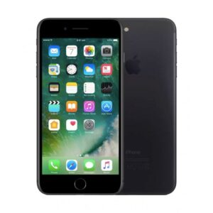 Apple iPhone 7 Plus black front&back