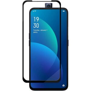 Oppo F11 Pro 9D Hardness front Black tempered Glass (1)