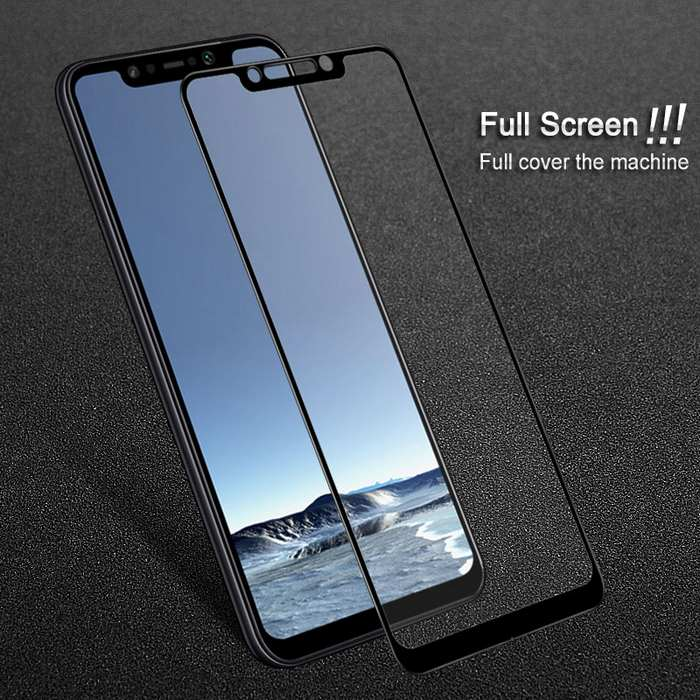 PREMIUM FULL SCREEN TEMPERED GLASS - XIAOMI POCOPHONE