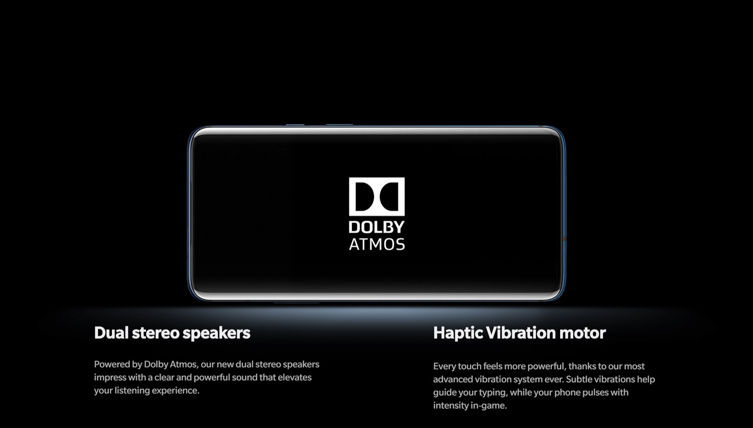 ONEPLUS 7 PRO BANNER - DOLBY ATMOS