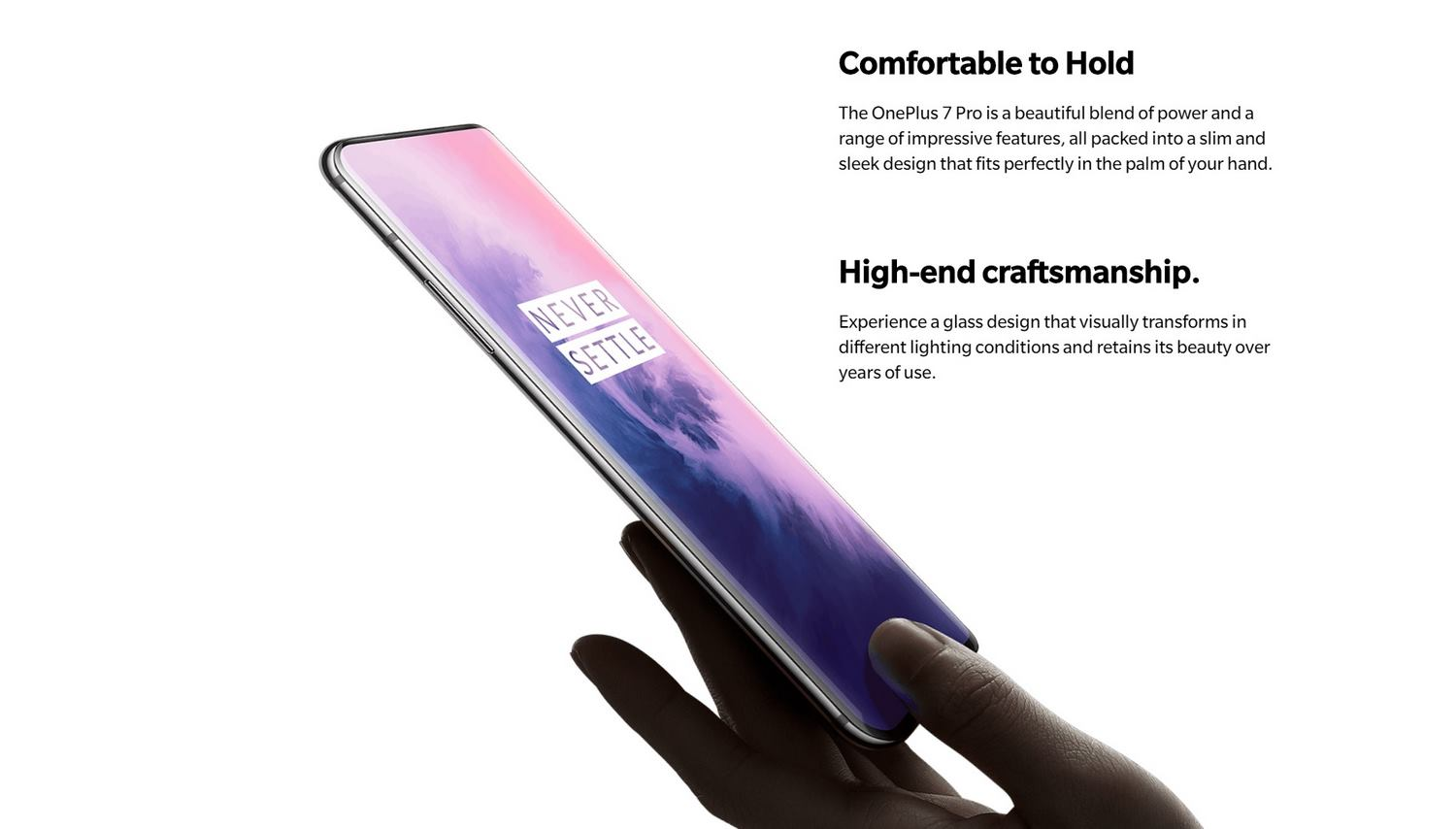 ONEPLUS 7 PRO BANNER - PREMIUM CRAFT & COMFORTABLE GRIP