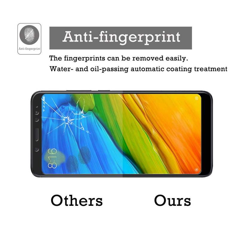 REDMI 5 PLUS SCREEN PROTECTOR - ANTI-FINGERPRINT