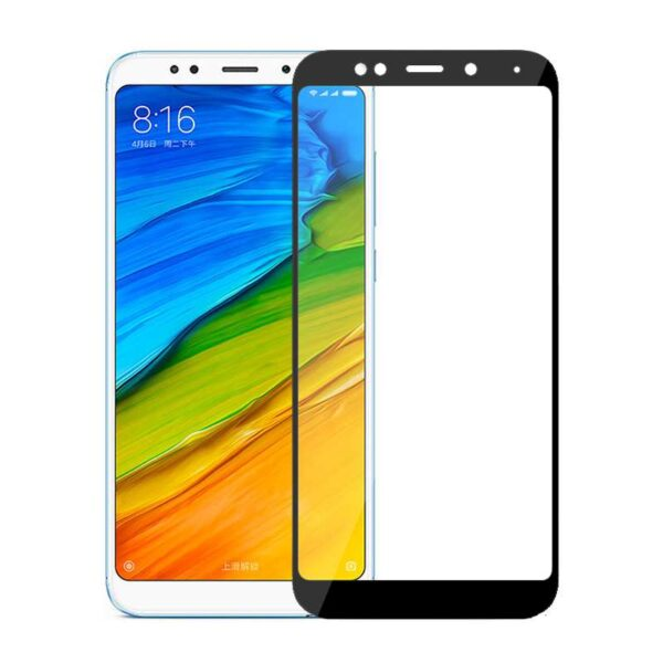 REDMI 5 PLUS SCREEN PROTECTOR - BLACK