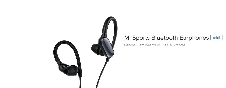 XIAOMI MI SPORTS BLUETOOTH EARPHONES MINI WHITE (1)