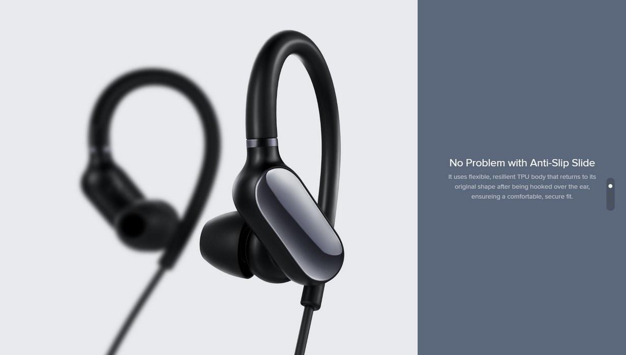 a7e6bbfc421 Xiaomi Mi Music Sports Bluetooth Earphones Mini Version - White - Alezay