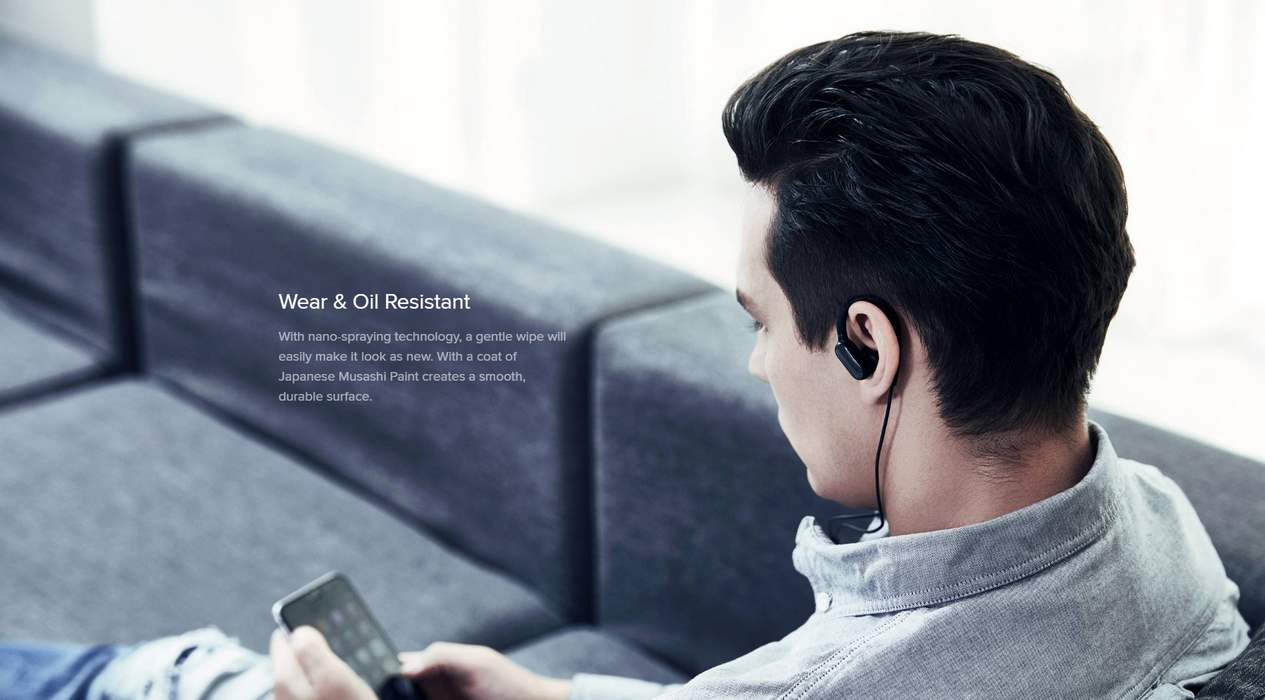 XIAOMI MI SPORTS BLUETOOTH EARPHONES MINI WHITE (9)