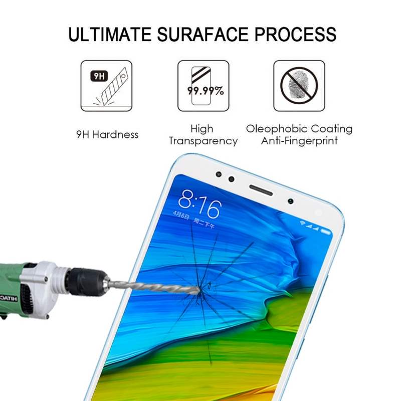 XIAOMI REDMI 5 PLUS SCREEN PROTECTOR WHITE - ULTIMATE SCREEN PROTECTOR