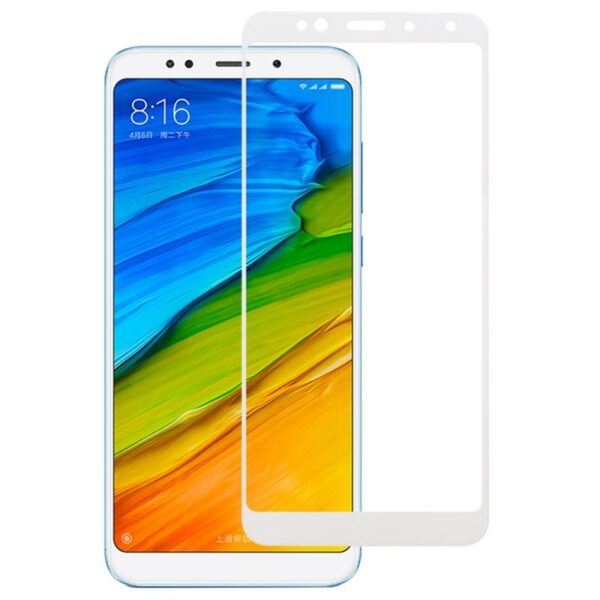 XIAOMI REDMI 5 PLUS SCREEN PROTECTOR WHITE (3)