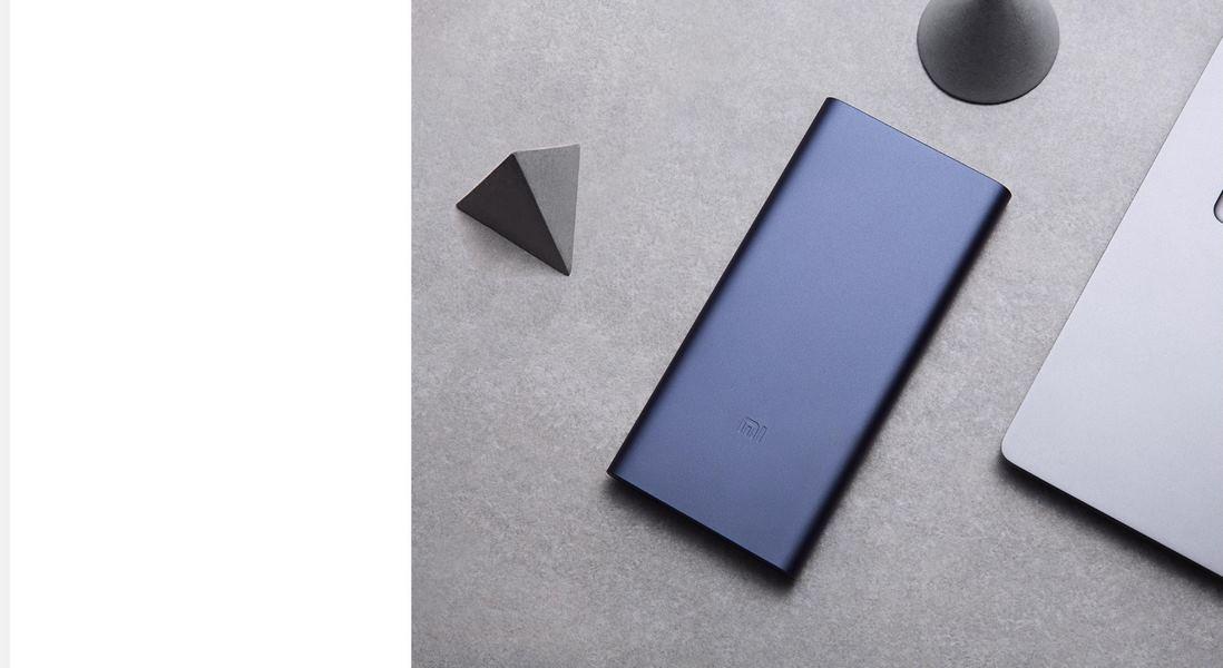 Xiaomi Mi 10000mAH Power Bank 2S Daul USB Quick Charge 3.0 Silver - High Charging Efficiency