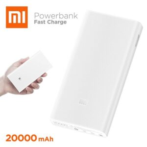 Xiaomi Mi 20000mAh Power Bank 2C Dual USB- White (1)
