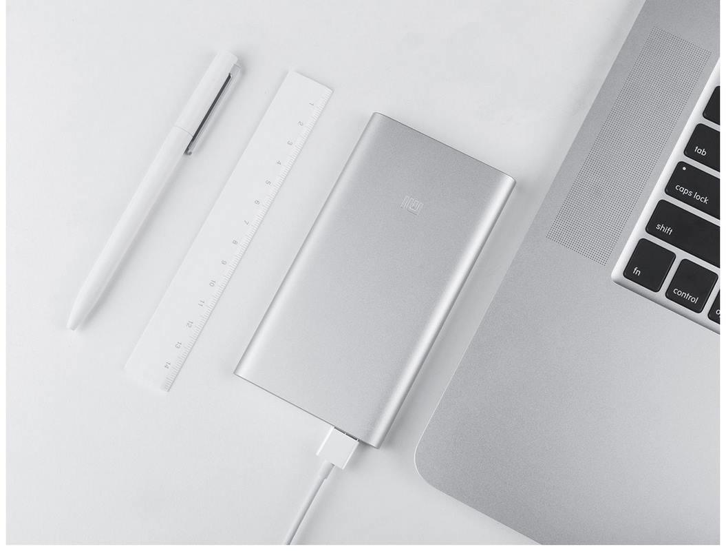 Xiaomi Mi 5000mAh Power Bank 2 - Durable Aluminium Casing