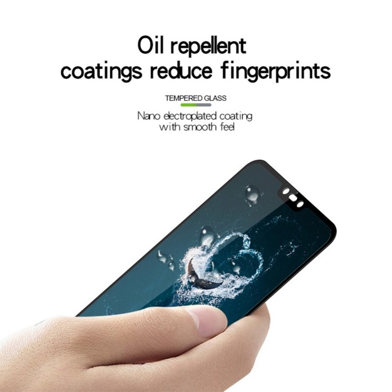 Xiaomi-Mi-8-Lite- Screen-Protector - Oil Repellent