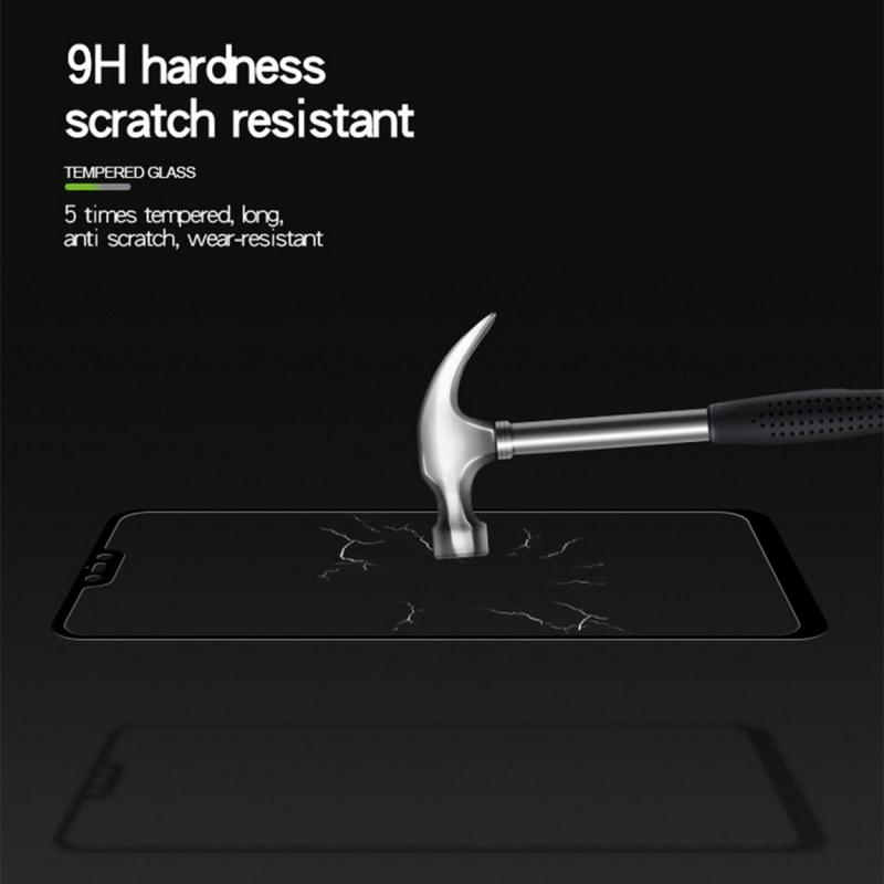 Xiaomi-Mi-8-Lite- Screen-Protector -9H Hardness Scratch Resistance