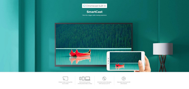 Xiaomi-Mi-Box-S-4K-Tv-Banner - Built-in Chromecast