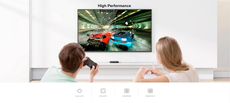 Xiaomi-Mi-Box-S-4K-Tv-Banner - High Performance Storage Capacity