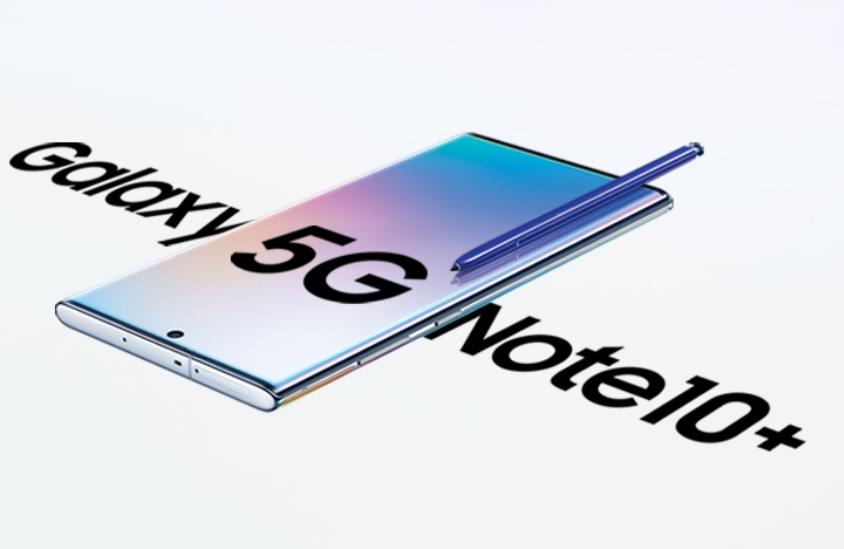 NOTE 10+ 5G Banner