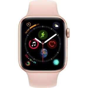 Apple-Watch-Sport-4-Series-Gold-Aluminium-Case-Pink-Sand-Sport-Band
