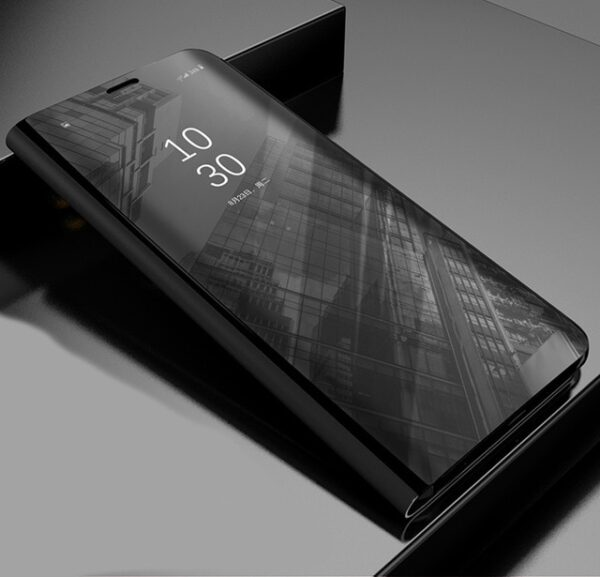 XIAOMI-POCOPHONE-F1-CLEAR-VIEW-STANDING-COVER - BLACK