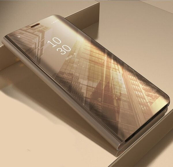 XIAOMI-POCOPHONE-F1-CLEAR-VIEW-STANDING-COVER - GOLD