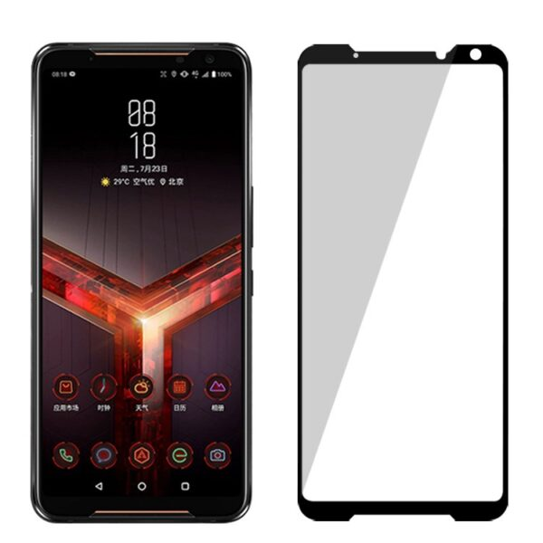 Asus ROG Phone 2 Complete Coverage 11H Hardness 2.5D Full Glue Screen Protector (1)