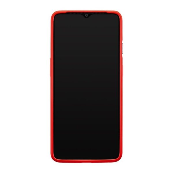 ONEPLUS-7T-SILICONE-BUMPER-CASE-RED