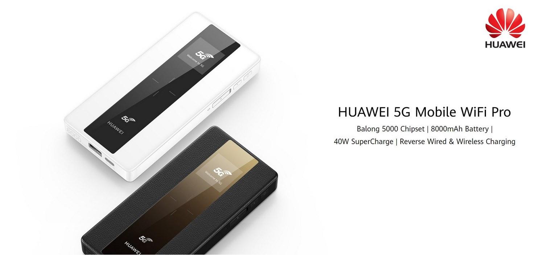 HUAWEI 5G Mobile WiFi Pro - BANNER