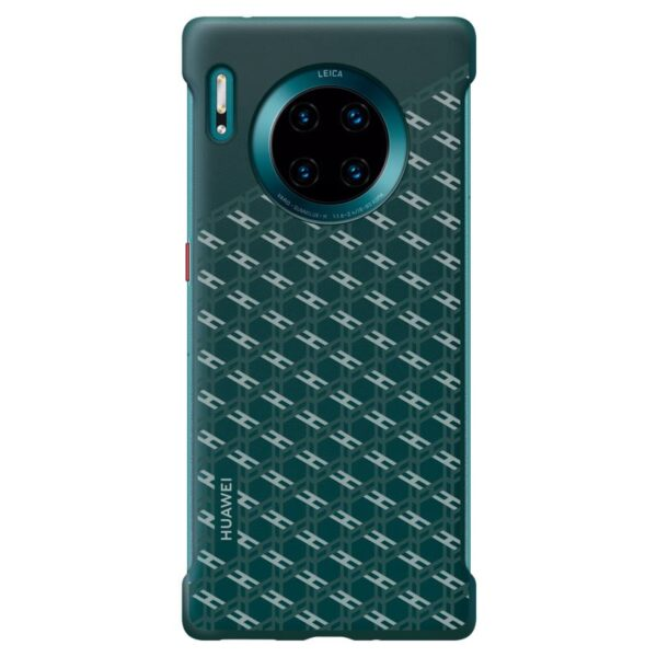 HUAWEI-MATE-30-PRO-FASHION-TEXTURE-CASE-GREEN-FRONT