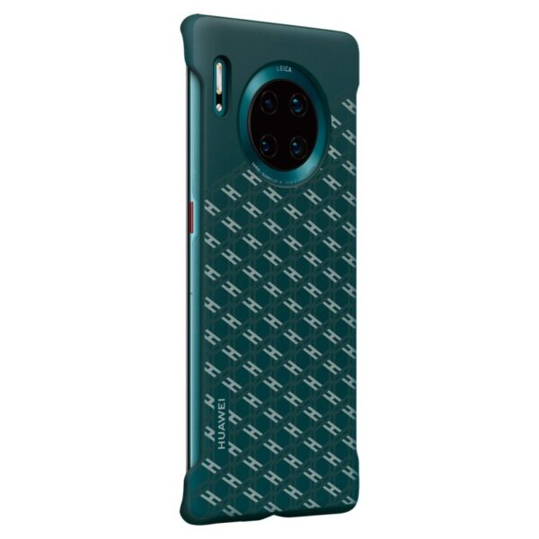 HUAWEI-MATE-30-PRO-FASHION-TEXTURE-CASE-GREEN-TILTED