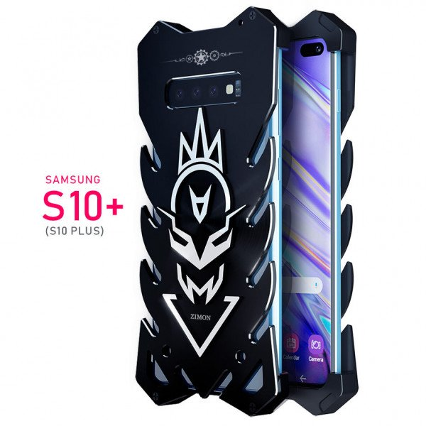 Samsung Galaxy S10 Plus Aviation Aluminum Alloy Shockproof Armor Metal Case Cover