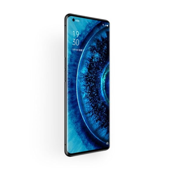 OPPO-FIND-X2-PRO-5G-BLACK-FRONT-TILTED
