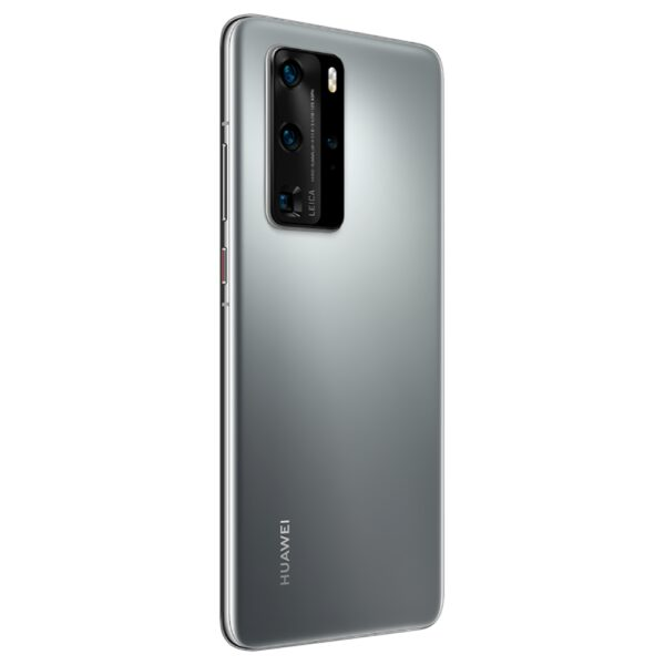 HUAWEI-P40-PRO-5G-SILVER-FROST-BACK-TILTED