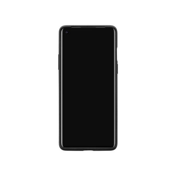 ONEPLUS-8-SANDSTONE-BUMPER-CASE-BLACK-FRONT