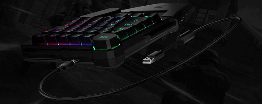 Black-Shark-One-Hand-Mechanical-Gaming-Keyboard-Banner