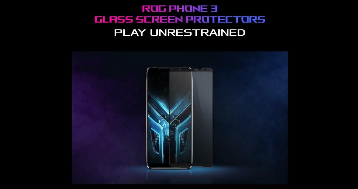 ASUS ROG PHONE 3 GAMING SMARTPHONE GLASS SCREEN PROTECTOR BANNER