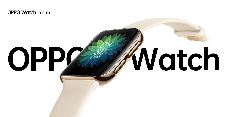 OPPO Watch 46mm Smartwatch Banner-Alezay