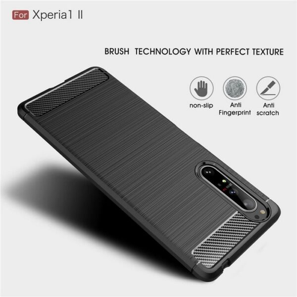Sony-Xperia-1-II-Case-Silicone-Rugged-Armor-Soft-Cover-Case (2)