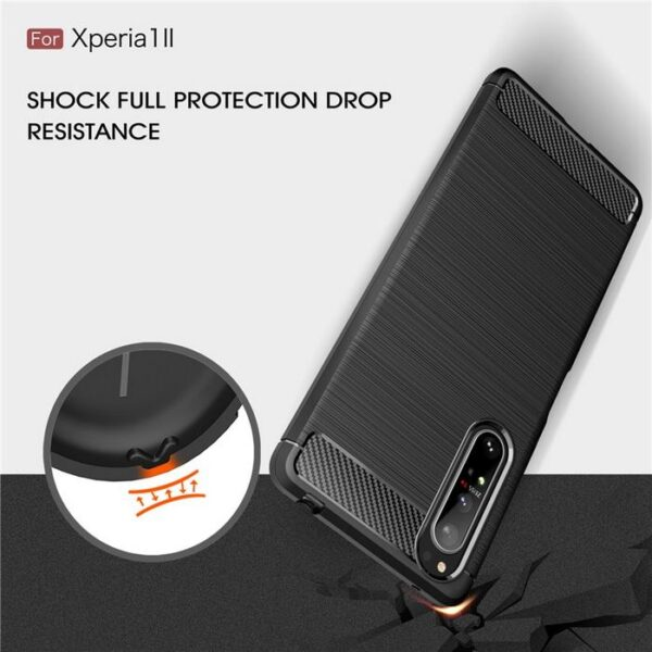 Sony-Xperia-1-II-Case-Silicone-Rugged-Armor-Soft-Cover-Case (3)