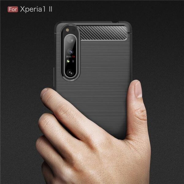 Sony-Xperia-1-II-Case-Silicone-Rugged-Armor-Soft-Cover-Case (6)