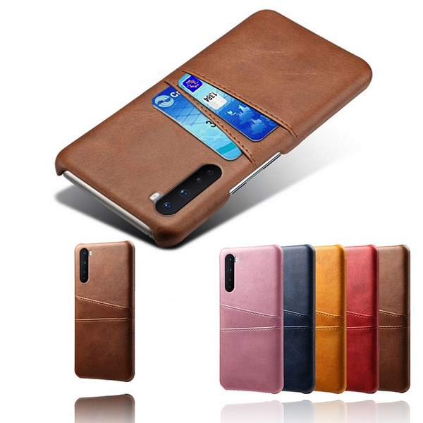 Oneplus-Nord-Luxury-Card-Holder-Hard-PC-Leather-Wallet-Case