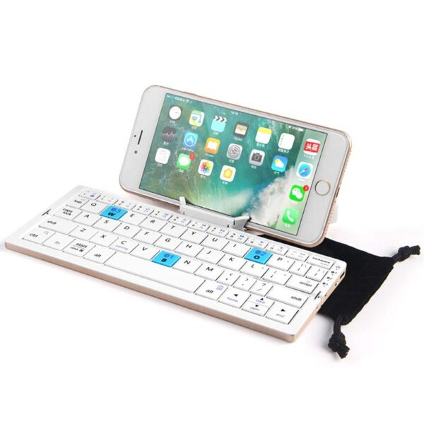 Bow-HB199-Foldable-3-Channel-Bluetooth-Keyboard-with-Stand-Gold (3)