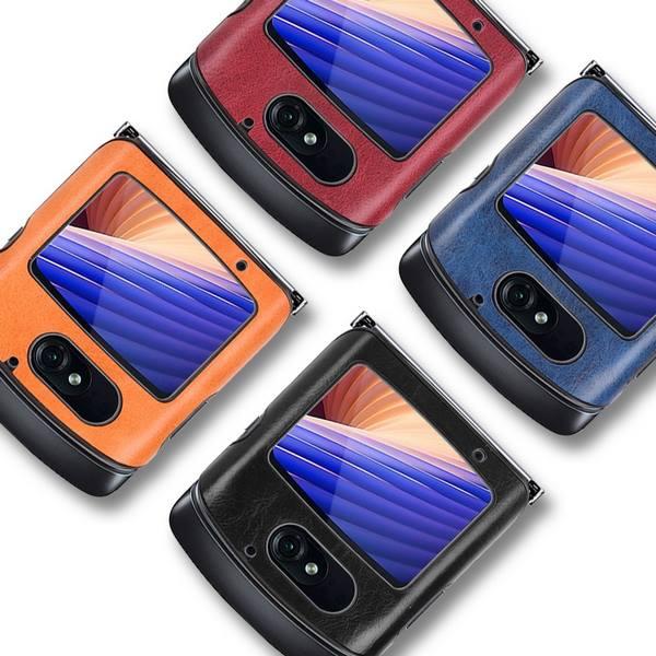 Motrola Razr 5G Leather Cases (1)