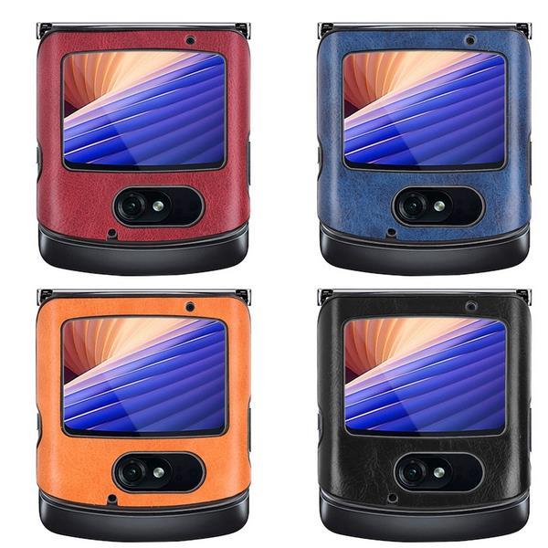 Motrola Razr 5G Leather Cases