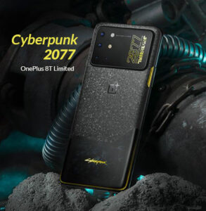 ONEPLUS 8T Cyberpunk 2077 LIMITED EDITION BANNER
