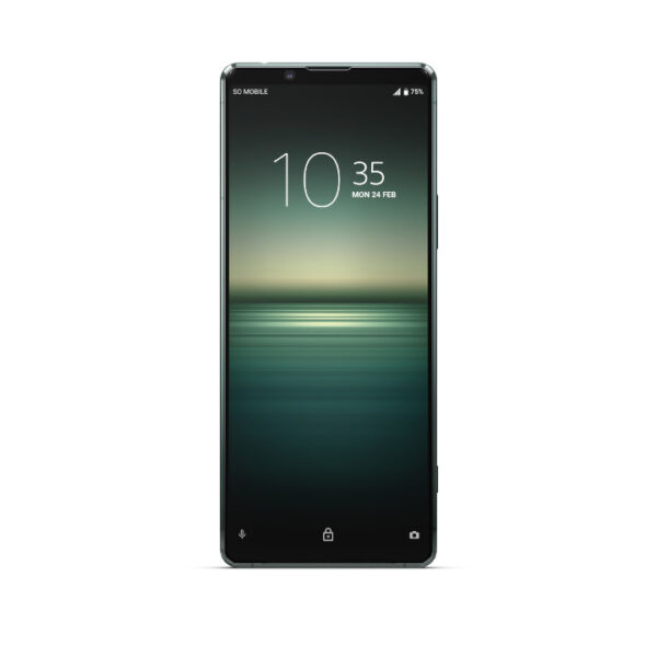 Sony Xperia 1 ii 5G Green (Front)
