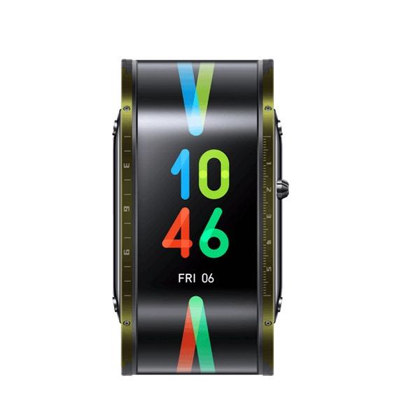 NUBIA-WATCH-FLEXIBLE-DISPLAY-SMART-WATCH-PHONE-GREEN (1)
