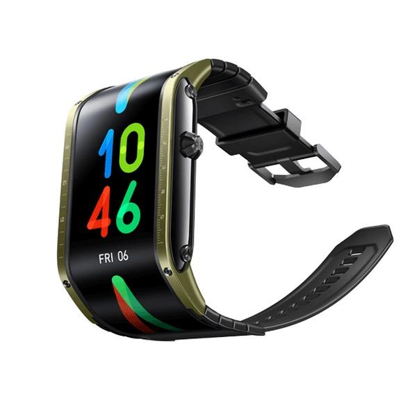NUBIA-WATCH-FLEXIBLE-DISPLAY-SMART-WATCH-PHONE-GREEN (5)