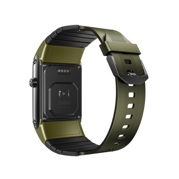 NUBIA-WATCH-FLEXIBLE-DISPLAY-SMART-WATCH-PHONE-GREEN (7)