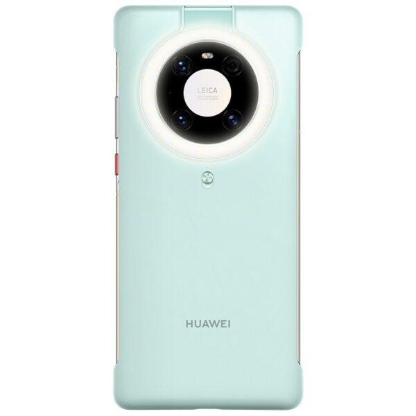 HUAWEI MATE 40 PRO RING LIGHT CASE - BLUE