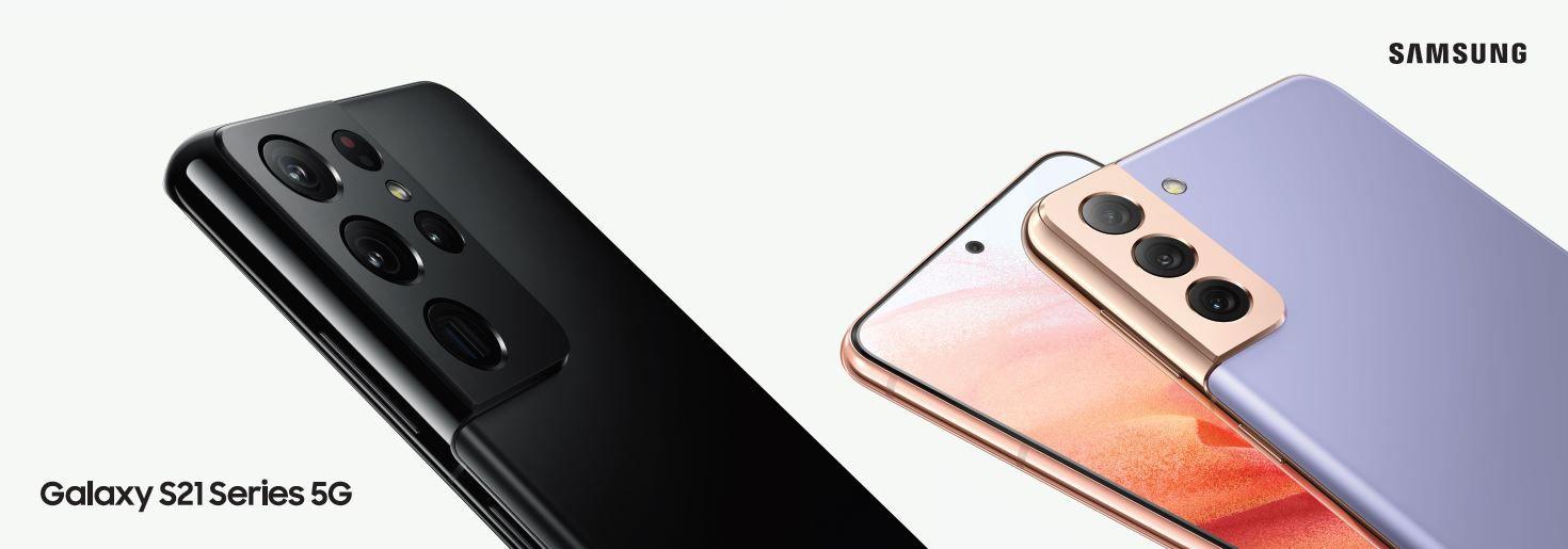 Samsung-Galaxy-S21-Series-5G-Snapdragon-888-Banner-Alezay-Kuwait